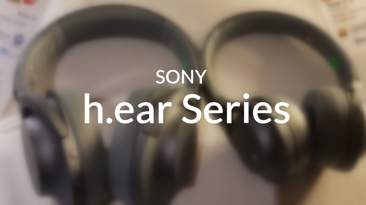 Sony h.ear series gets a new splash of Colors & Style!