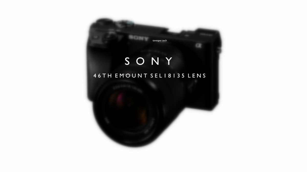 Sony Launches their New SEL18135 E mount lens for their Cameras