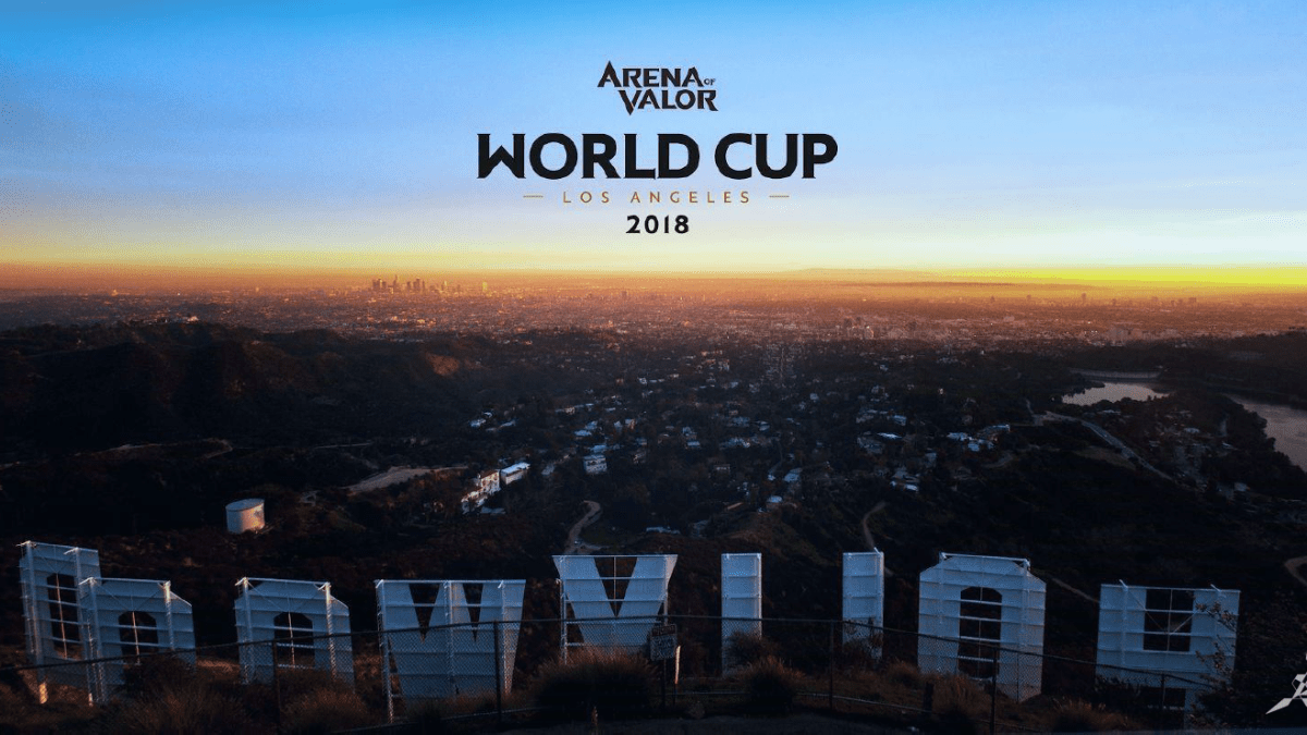 Arena of Valor World Cup To Commence In July 2018!