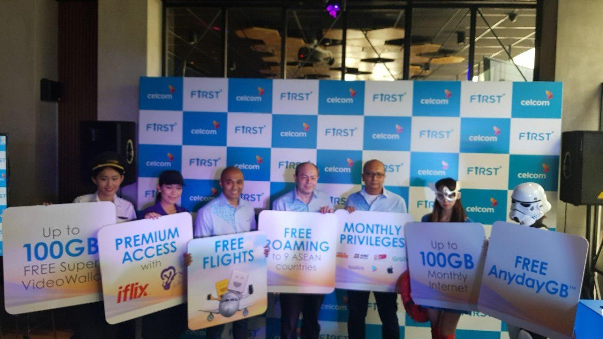 Celcom FIRST Postpaid Just Got Better with Tons of Lifestyle Choices!