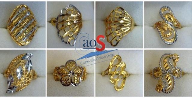 banner perhiasan lapis emas