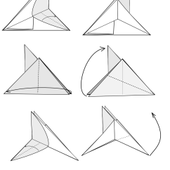 Star Flower Origami Diagram Jensen Wiring Vm9311 Model Archives Tavin S Of The Flapping Bird