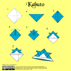 Origami Wolf Instructions Diagram Venn Of Complement Sets Kabuto - Tavin's