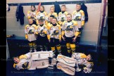 The Tavistock Titans Novice Rep team are, in front, left to right: (goalies) Bryce Hutcheson, Logan MacMillan; middle row: Cooper Yantzi, Jake Hauss, Luc Dionne, Logan Rose, Alex Michiels; back row: Carly McIntosh, Rowan Bartlett, Tucker Otto, Carter Skillings, Morgan Brenneman. (contributed photo)