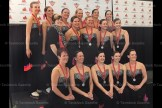 The Gold Medal Synchro III Team includes, from the left, in front: Debora Montgomery, Heidi Zeigler, Coach Tara Wilkins, Valerie MacDonald, Lisa Bartlett and Lynn Koot; 2nd row: Christy Coghill, Michelle Klein-Gletink, Tricia Hendry, Mary Rea Brennan, Sheri Bell-Witt, Teresa Weicker, Jennifer McArthur, Mary Evelyn Lather, back row: Charlene Radler, Katie McArthur, Krista DeWetering, Kylie Poole, Cheryl Dotzert, Lynsey McIntyre and Jennifer Lubbers.