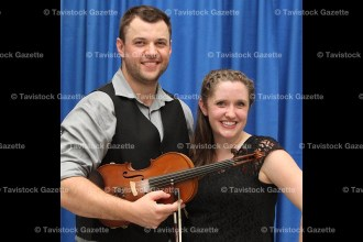 Greg Henry won the Open Fiddle category for the third straight year while Becky Reid won her first Open Stepdance championship here in Tavistock this past weekend. Both earned $1,000.