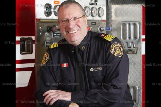 East Zorra-Tavistock, Hickson Station Fire Chief Tom Bickle began duties on September 1, 2016.