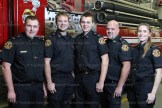 New recuits on the Hickson Fire Department since December 1, 2015 are, from the left, Dan Lightfoot, Tim Renkema, Adam Witmer, T.J. Murray and Shelby Pozza.