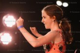 Open Stepdance champion Colleen Jewish of Oshawa performs.