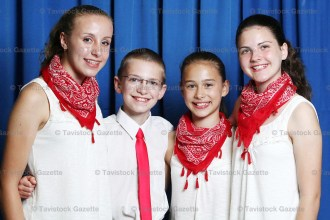 Open Group Stepdance Champions at this year's 34th Annual SWO Fiddle & Stepdance Championships were ElectriCALL SToRM - Clara Roth, Leo Stock, Anna Tigani and Louisa Mueller.