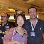 Akiko and Massoud.