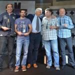 Doubles teams from Germany: 1-Volker Sonnabend & Rainer Witt  2- Philip Kazemieh & Thomas Kazemieh.