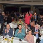 Mert, Ömer and Ebru at our table.