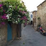 A lovely historic street in Kyrenia