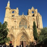 Lala Mustafa Pasha Mosque and also St. Nicholas Cathedral in Famagusta
