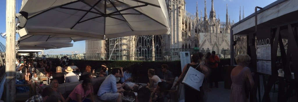 Vista sul Duomo  Milano  TavolaViaggi