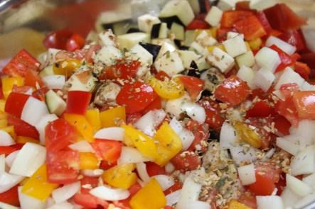 savoury salad