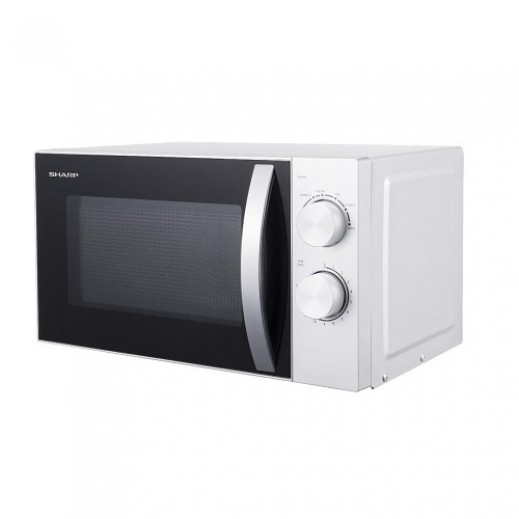 sharp 700w 20l microwave white