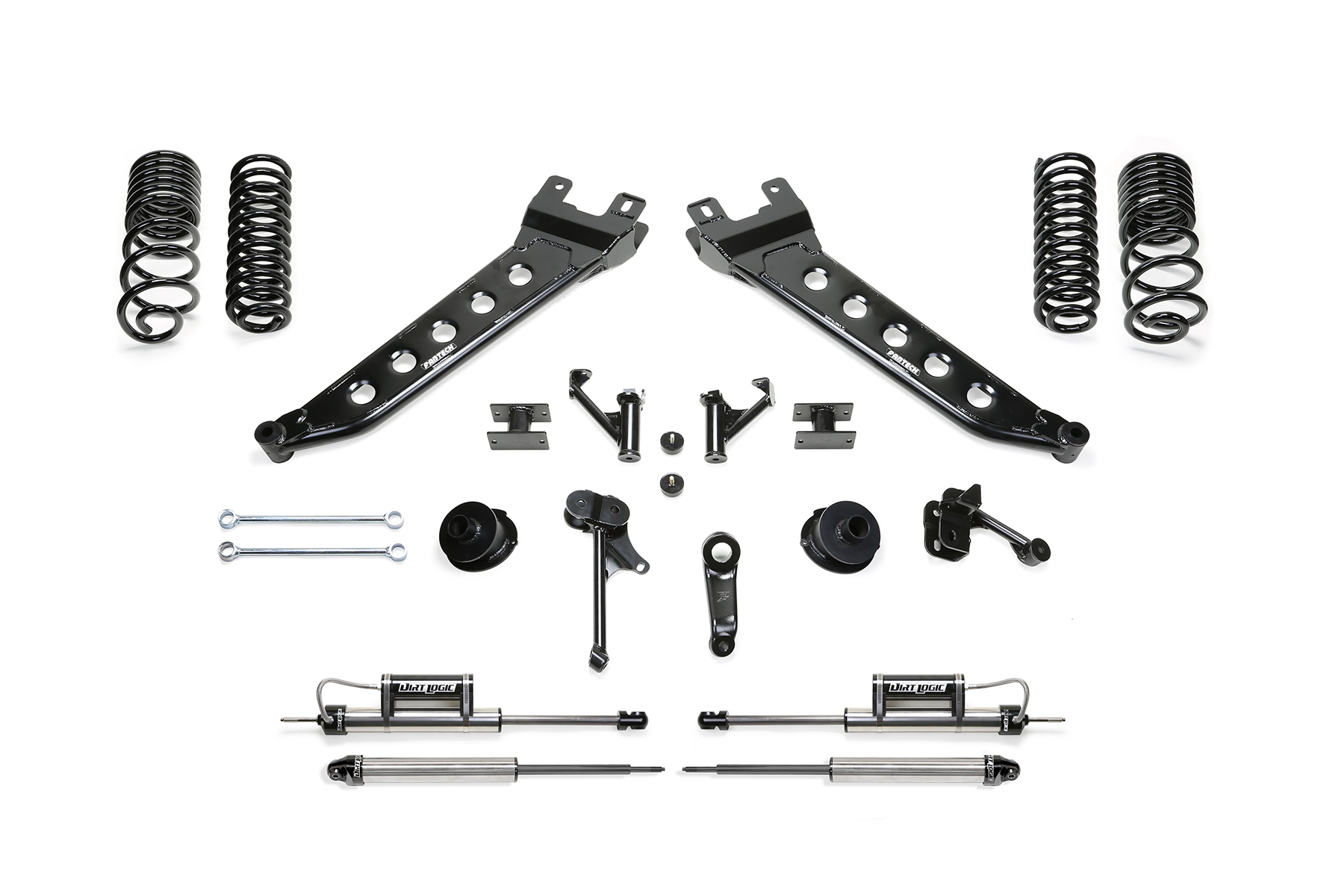 FABTECH NEW 2014-15 Ram 5″ Coil Spring Systems