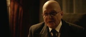 Scary bald headed professor.