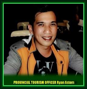 Provincial Tourism Officer (PTO) Ryan Astom