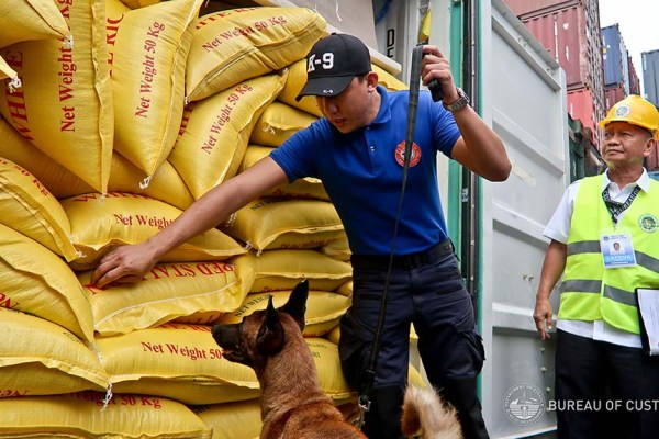 BOC seizes P125-M worth of smuggled rice