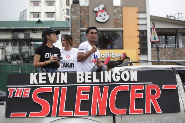 Kevin Belingon of Team Lakay