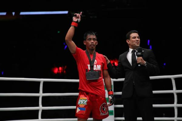 Honorio Banario of Team Lakay