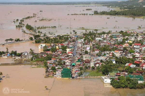 Photo credit: Bicol flooding caused by TD Usman. (photo by Office of Civil Defense)