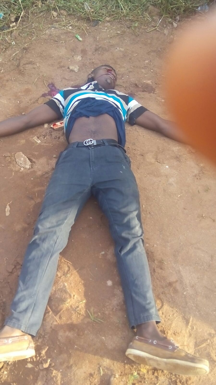 A Young Man Shot Dead By Unknown Killers At Imsu Front