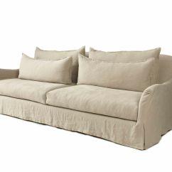 Linen Slipcovered Sofa Chesterfield Style Sleeper Sofas And Linens On Pinterest