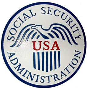 Social Security Emblym - SSA
