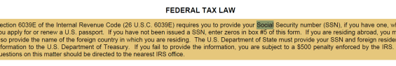 application for US passport p4