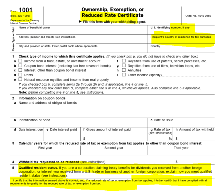 irs-form-1001-old-1998-version