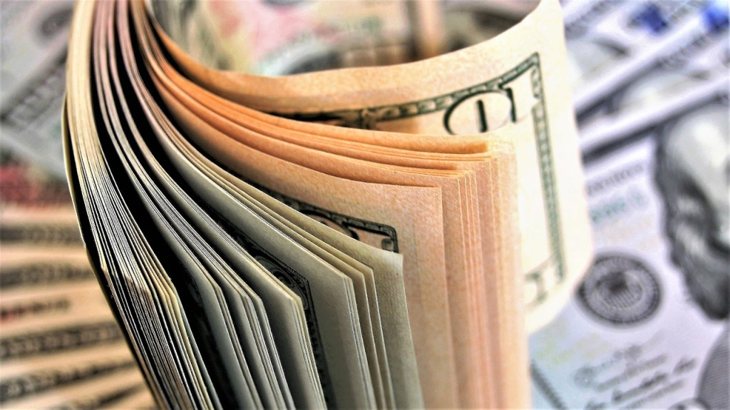 counting, euro banknotes, business