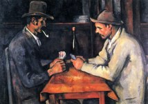 The Card Players, Paul Cezanne