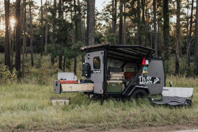 The Best Lightweight Camping Trailers for Adventuring - Tiger Moth from TAXA Outdoors