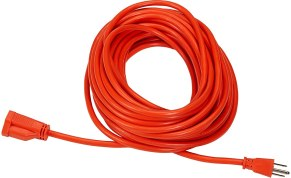Electrical cord for your checklist for life on the road