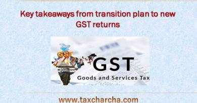 Transition plan to new GST return