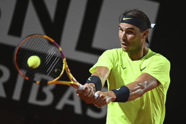 RAFAEL NADAL CRASHES OUT OF ITALIAN OPEN SEMIFINAL MATCHES TO BE HELD TODAY