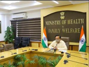 Union Health Minister addresses Inter Ministerial Conference by Partners in Population and Development
