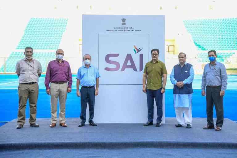 Kiren Rijiju launches new logo of Sports Authority of India