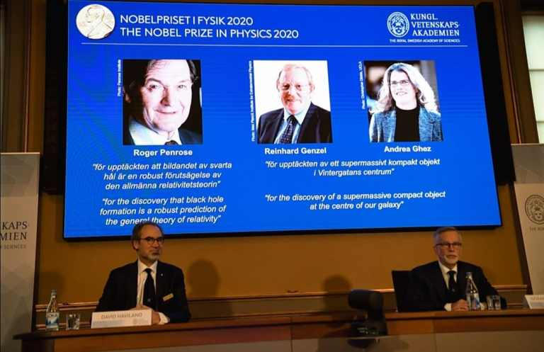 2020 Nobel: Three scientists share Prize in Physics