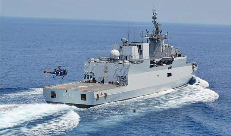 Indian and Sri Lankan navies began their annual exercise 'SLINEX'
