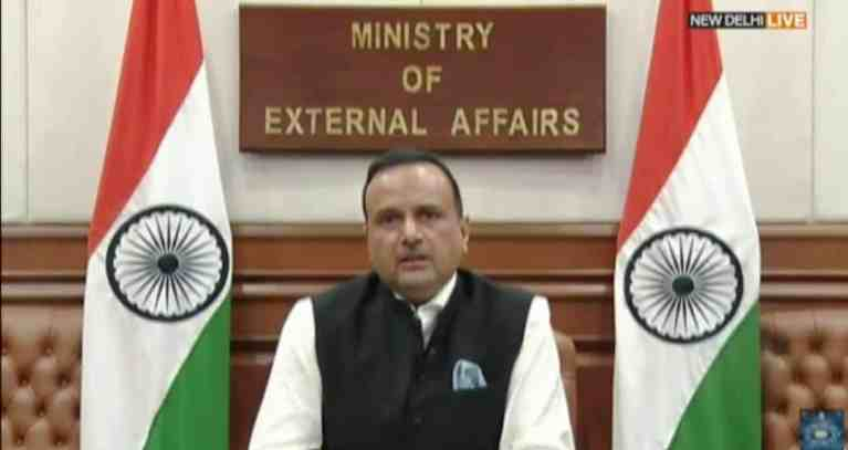 India firmly rejects Pakistan's attempt to bring material changes to a part of Indian Territory, under its illegal and forcible occupation