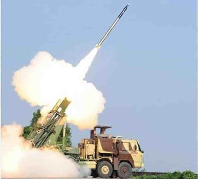 Enhanced PINAKA rocket successfully flight tested