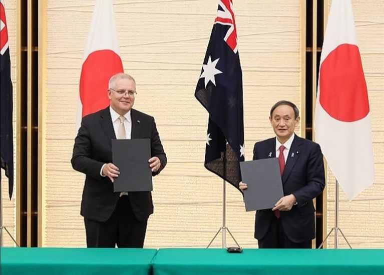 Japan & Australia sign landmark defence deal
