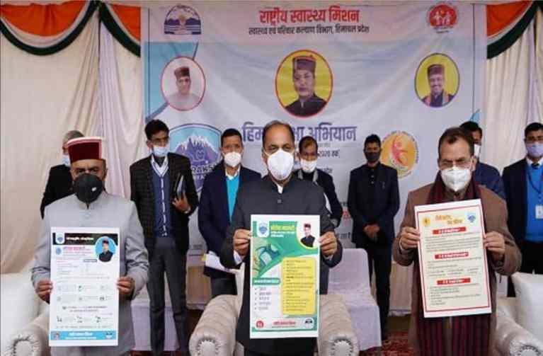Himachal Pradesh: 'Him Suraksha Abhiyan' launched to sensitize people about Covid-19 pandemic