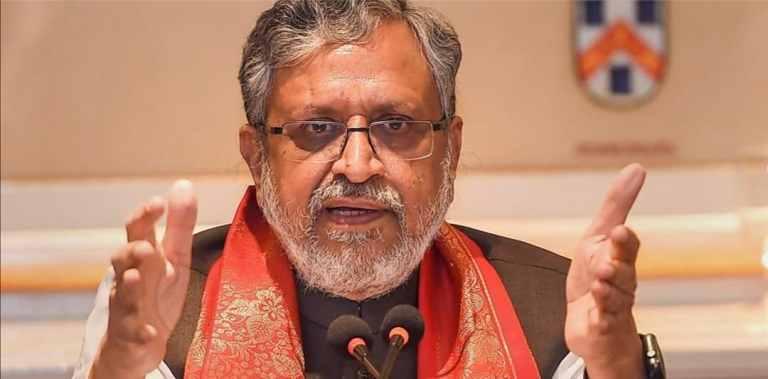 Former Deputy Chief Minister of Bihar Sushil Kumar Modi unanimously elected as Rajya Sabha member