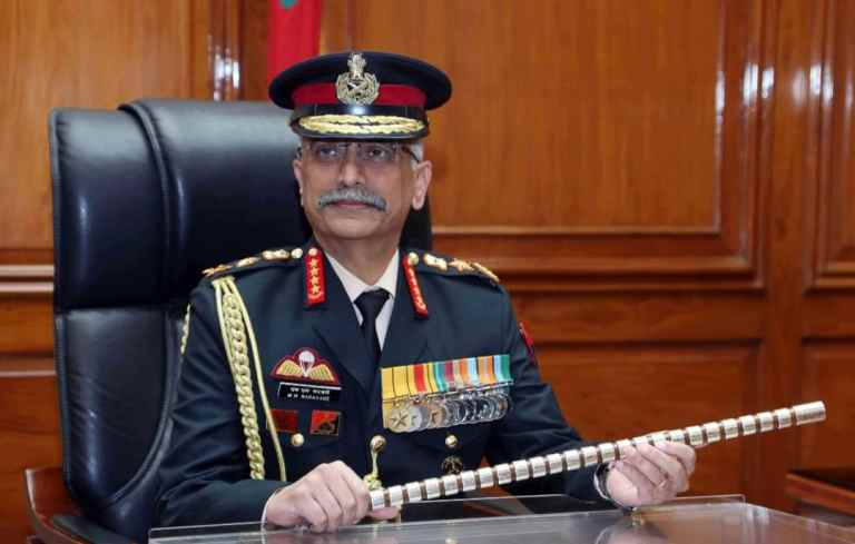 Indian Army Chief MM Naravane receives Guard of Honour at Republic Of Korea Army Headquarters